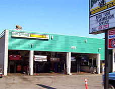 Picture of the Victoria shop of Bullfrog Transmissions